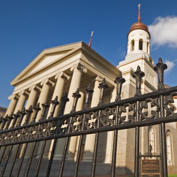 Baltimore Basilica Robinson Iron
