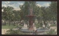 Original Grand island, Nebraska fountain