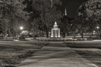 Night Photo facing Mercer by Michael Williams