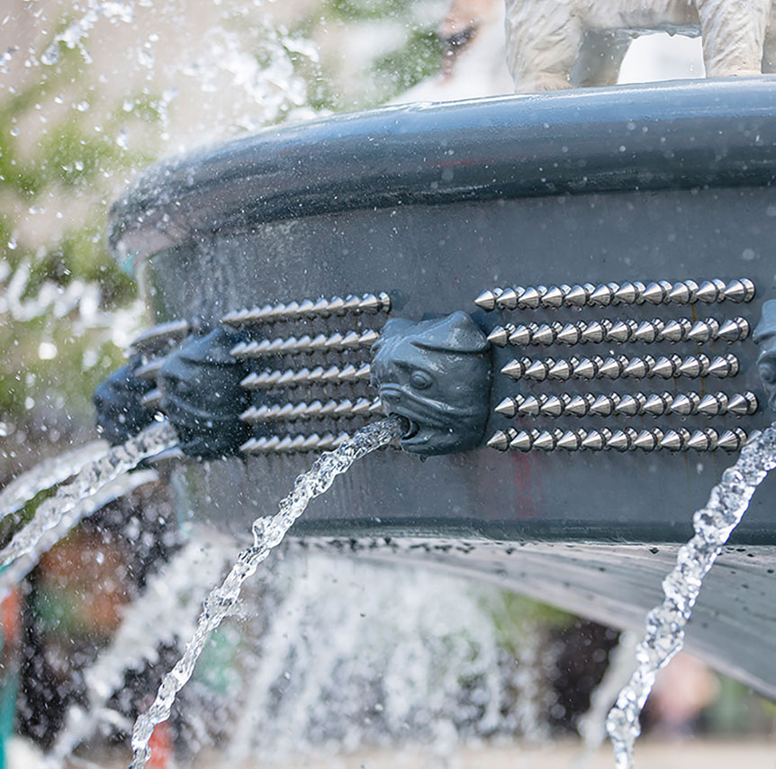 Berczy Park Dog Fountain