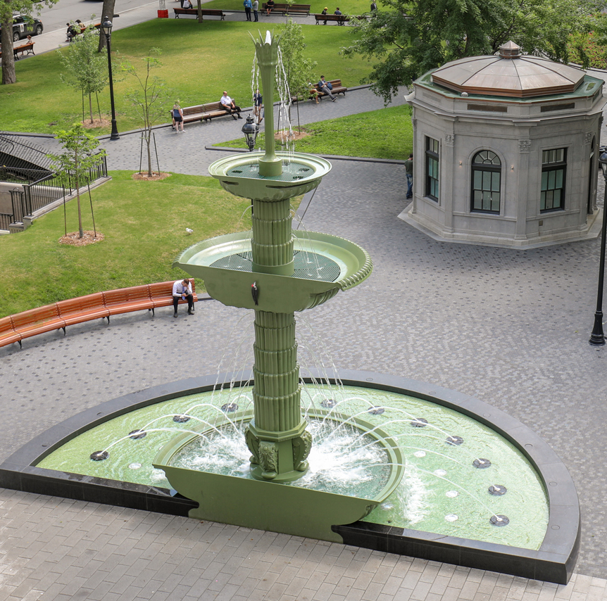 Dorchester Square Fountain